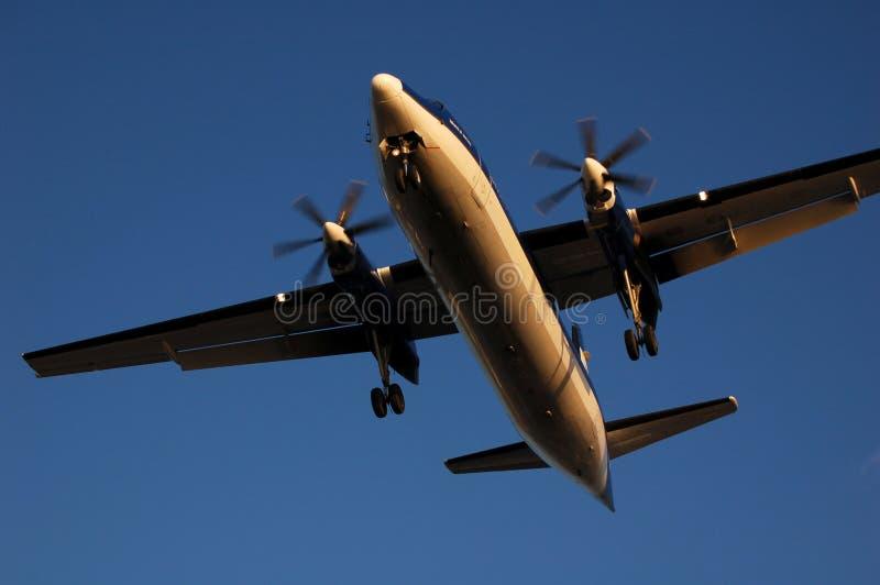 Fokker 50 foto de archivo