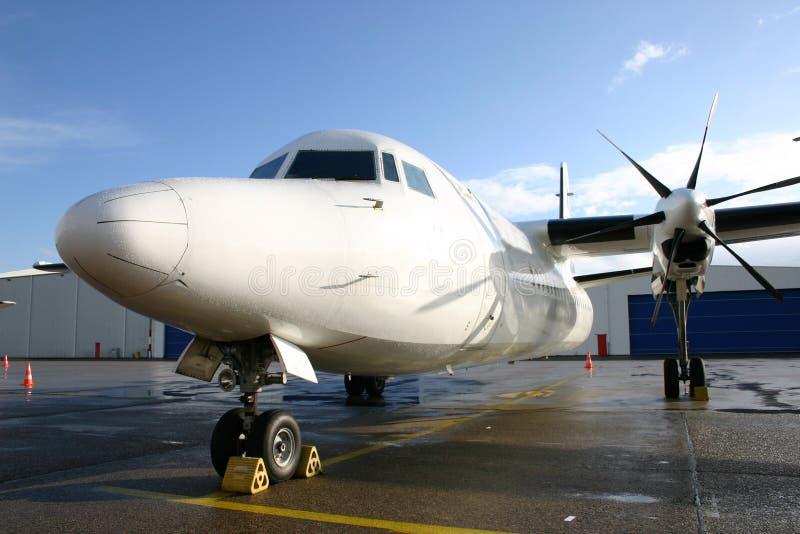 Fokker 50 fotos de archivo