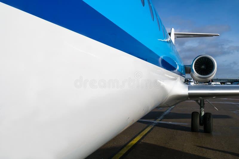 Fokker 70 fotos de archivo libres de regalías