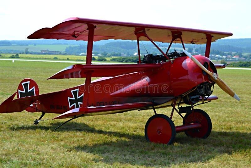 Fokker D vii imagen de archivo