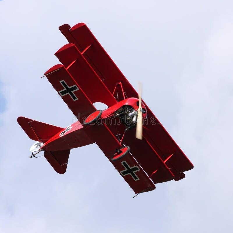 Fokker Dr.1 foto de archivo libre de regalías