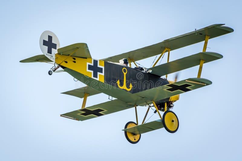 Fokker Dr I fotografía de archivo libre de regalías