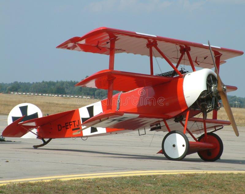 Download Fokker DRI foto de stock. Imagem de elitism, vôo, antique - 526810