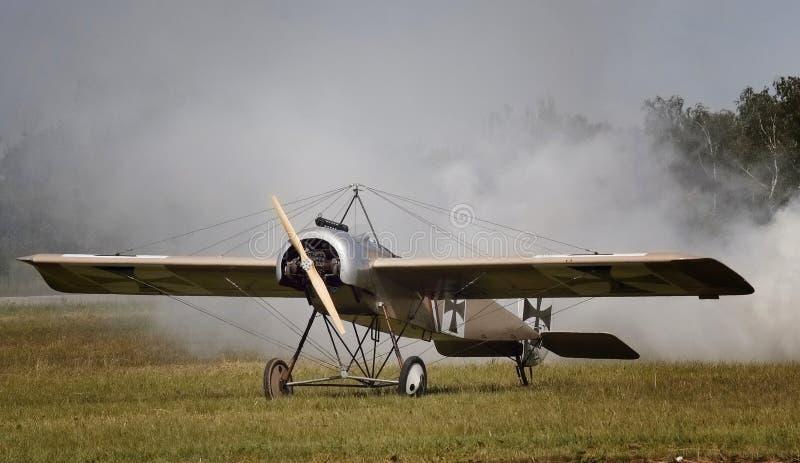 Fokker Eindecker fotografia stock