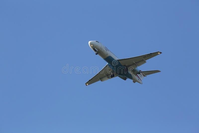 Fokker F70 foto de archivo libre de regalías