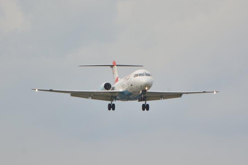Fokker F70 fotografía de archivo libre de regalías