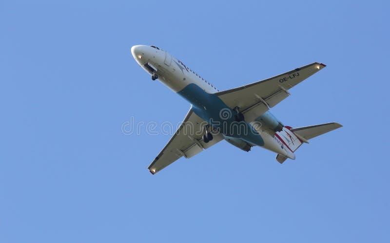 Fokker F70 imagenes de archivo