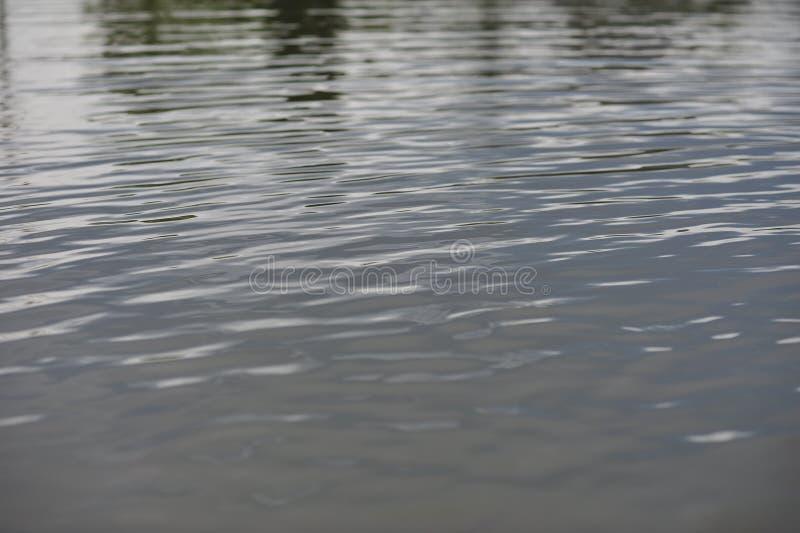 fokus på vattenyttersida i regnsäsong arkivbilder