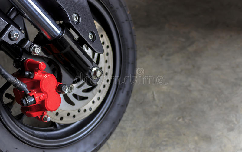 Folâtre la moto photo stock
