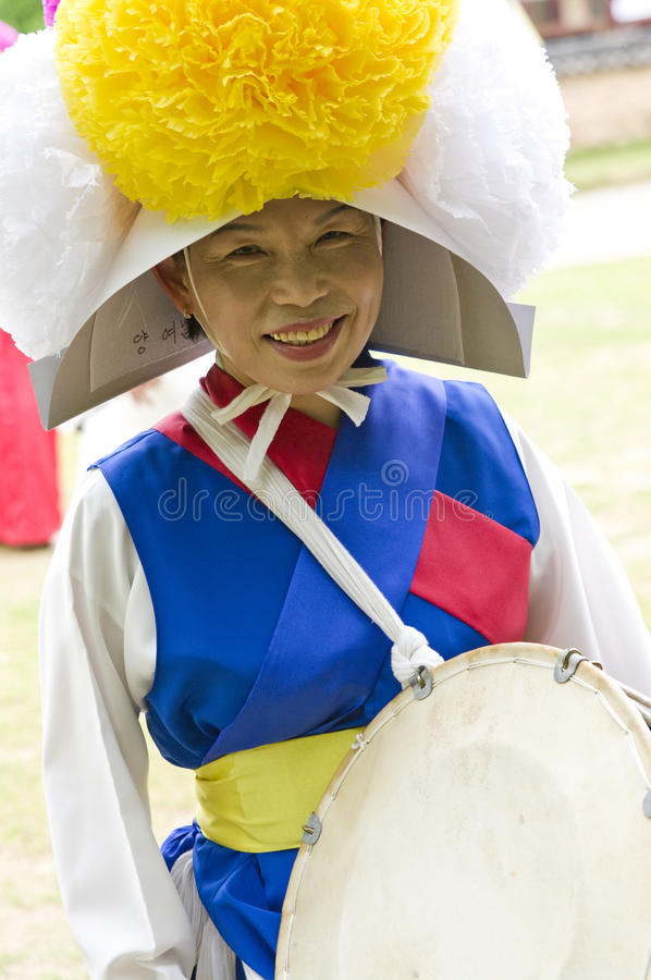 Folclore coreano sul imagem de stock royalty free