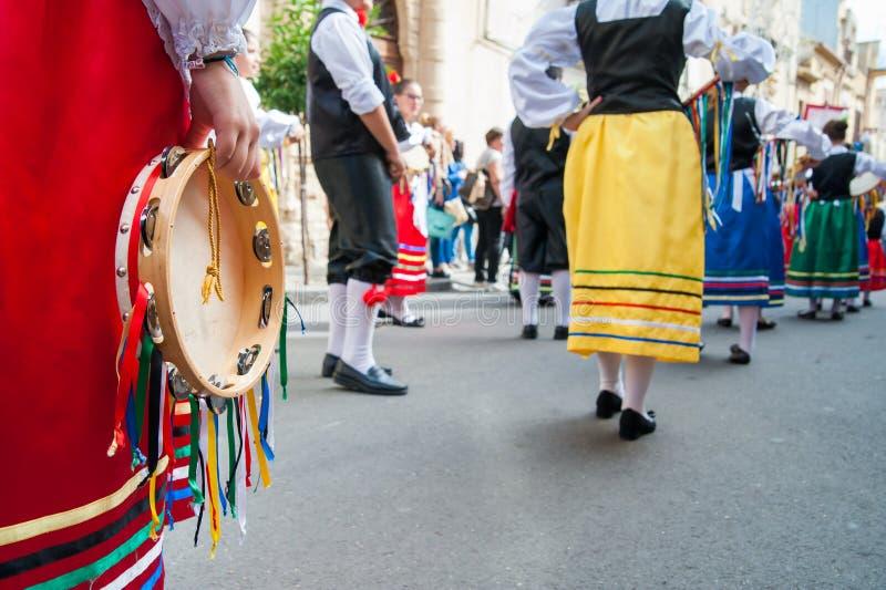 Folclore de Sicília imagens de stock royalty free