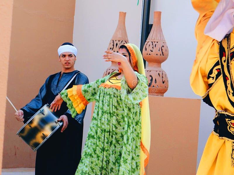 Folclore egiziano fotografia stock