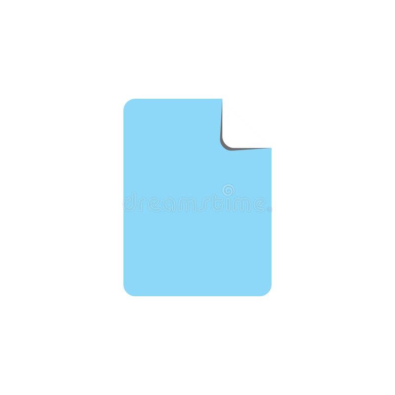Fold paper card symbol vector vector illustration