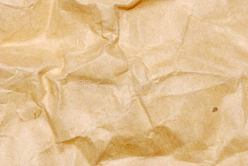 Fold paper texture background. Brown fold paper texture background royalty free stock images