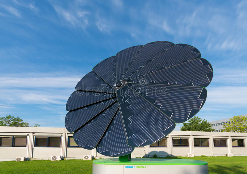Foldable słoneczny poborca obrazy stock