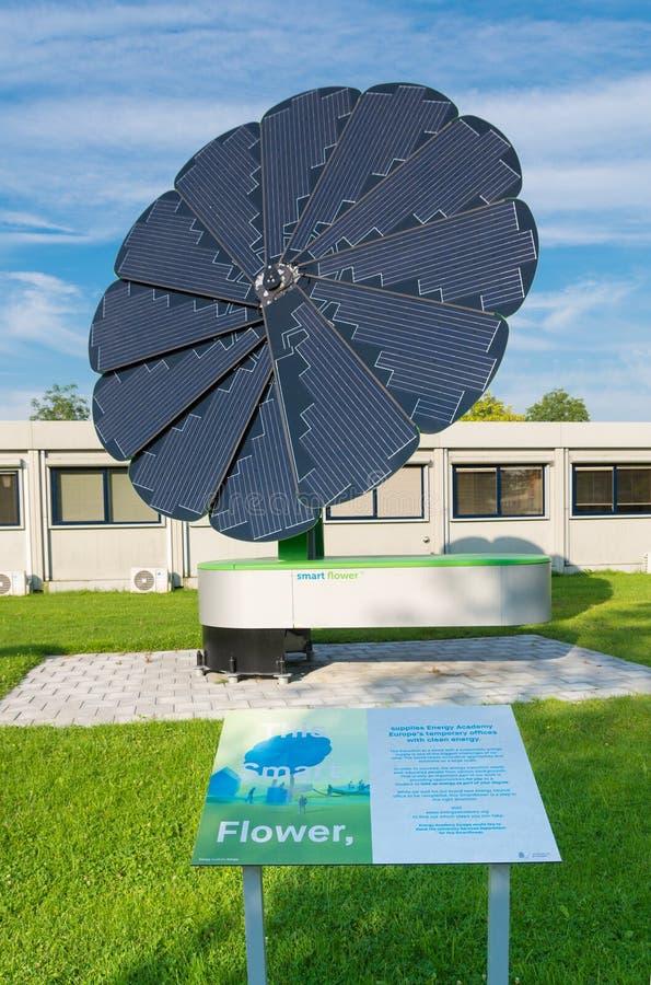 Foldable słoneczny poborca obrazy royalty free
