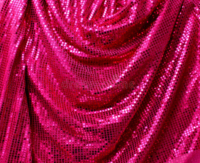 Folded Disco Glitter Canvas Stock Image