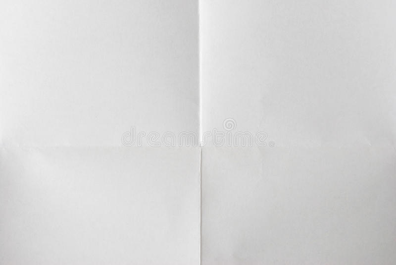 Folded paper stock photo