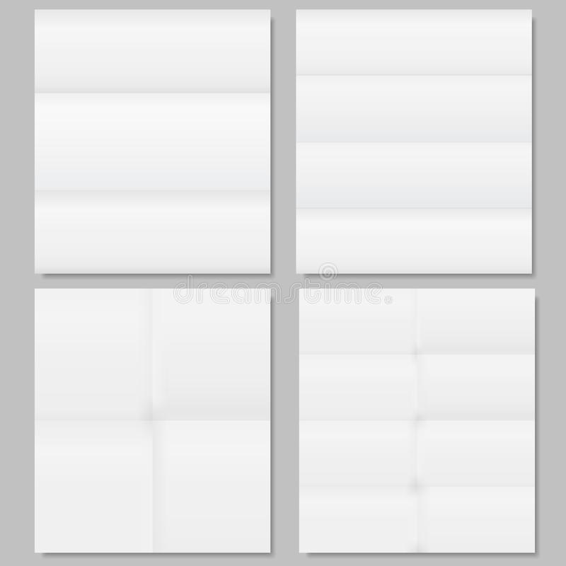 Download Folded Paper stock vector. Image of folded, memo, aged - 24329040