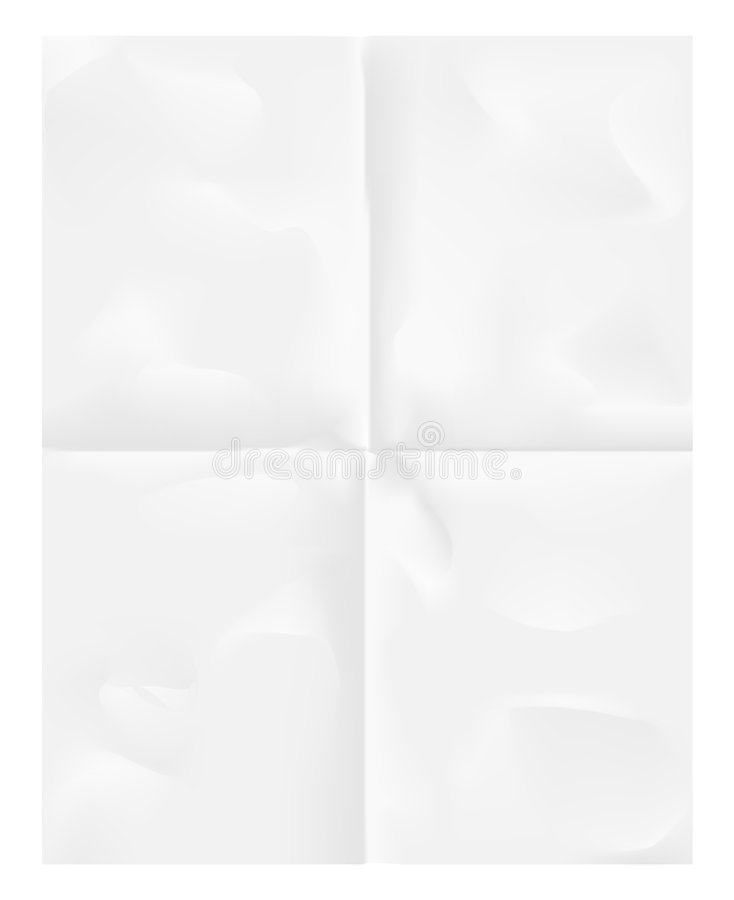 Folded paper background vector illustration
