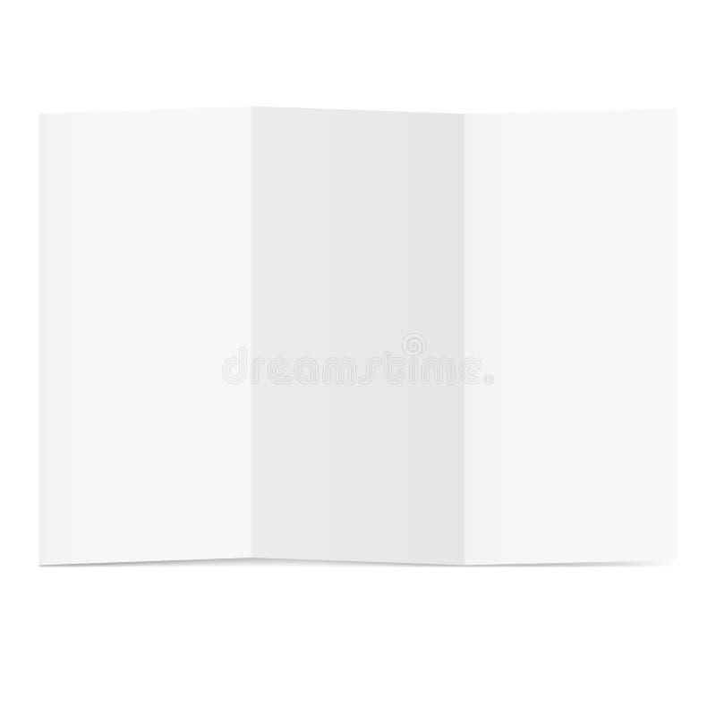 Folded Paper Stock Image