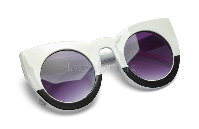 Folded Pointed Sun Glasses royalty free stock image