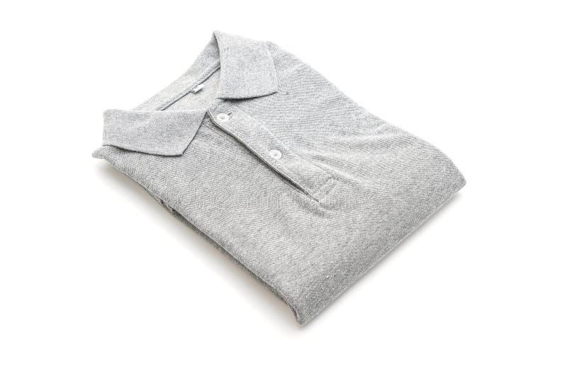 folded shirt on white background royalty free stock photos