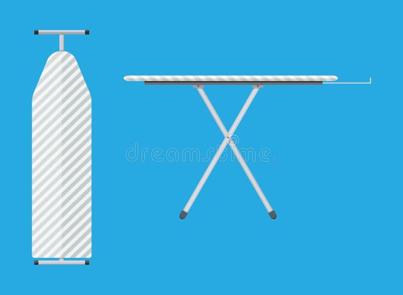 Folded and unfolded ironing board Icon royalty free illustration