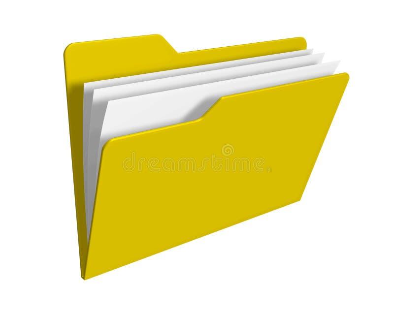 Folder royalty free illustration