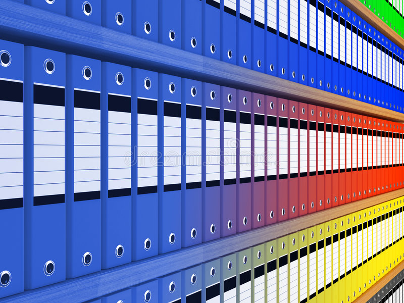 Folder background stock image