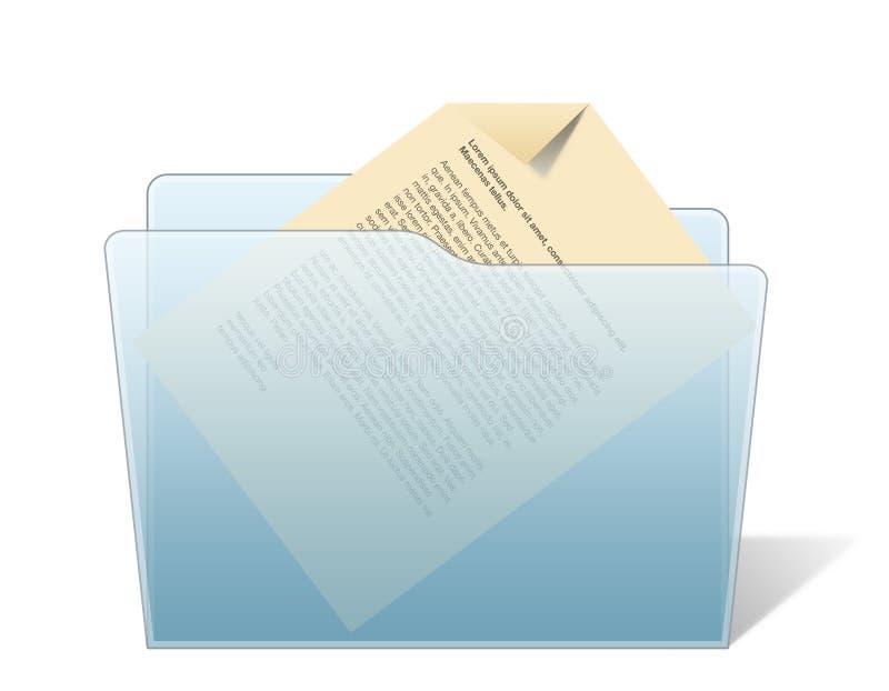 folder dokumentu ilustracja wektor