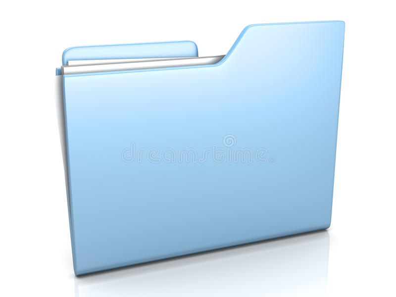 Download Folder stock illustration. Image of icon, sheet, supply - 33440928