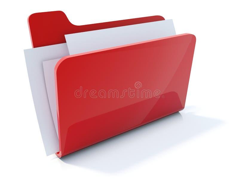 Folder icon stock photos