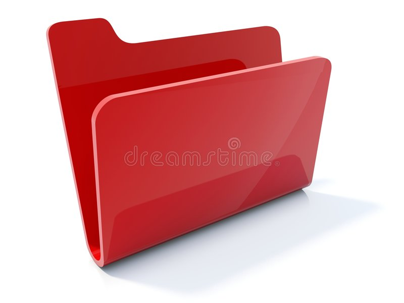 Folder icon royalty free stock photography