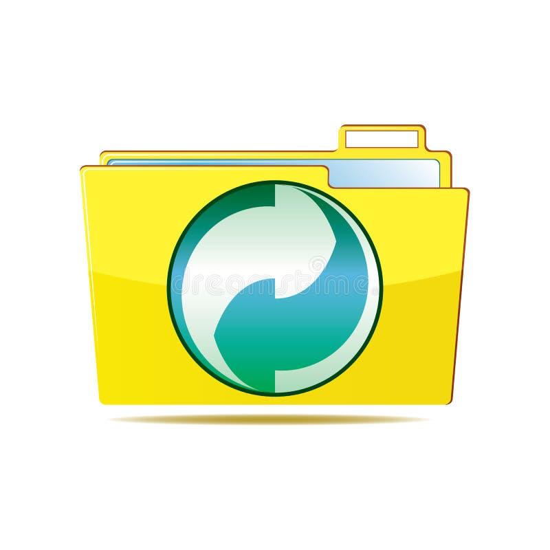 Folder icon stock illustration