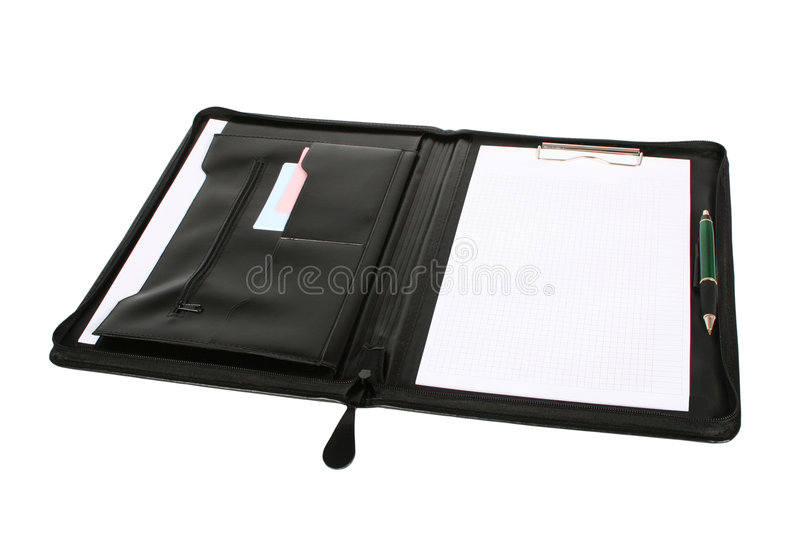 Folder for papers royalty free stock photography