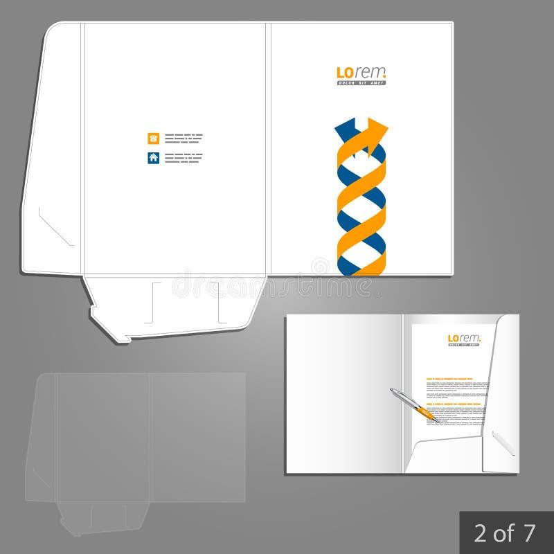 Folder Template Design Stock Vector Illustration Of Identity 54629545