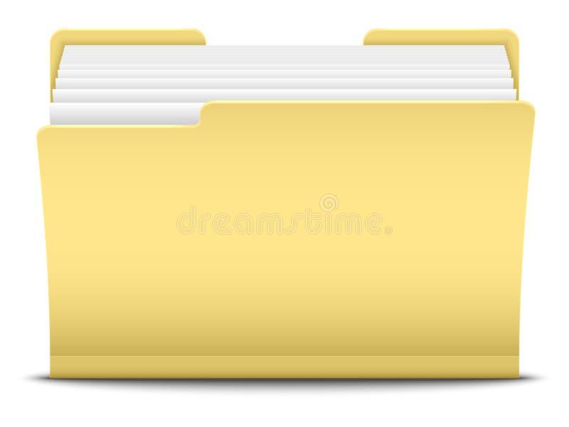 Download Folder stock illustration. Image of graphic, business - 36401675