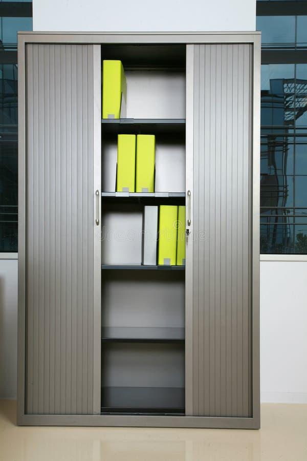 Folders. Some folders in a shelf royalty free stock image
