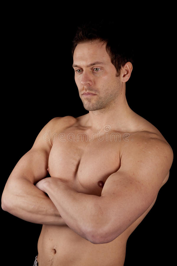 Download Folding arms stock photo. Image of pectorals, pecs, caucasian - 21733048