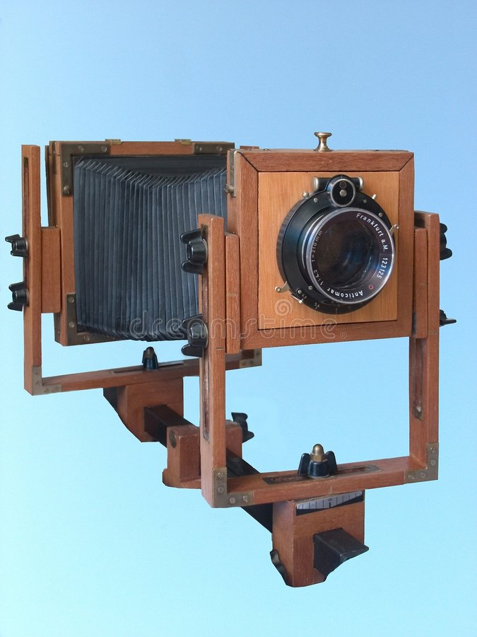 Folding camera 2 royalty free stock photo
