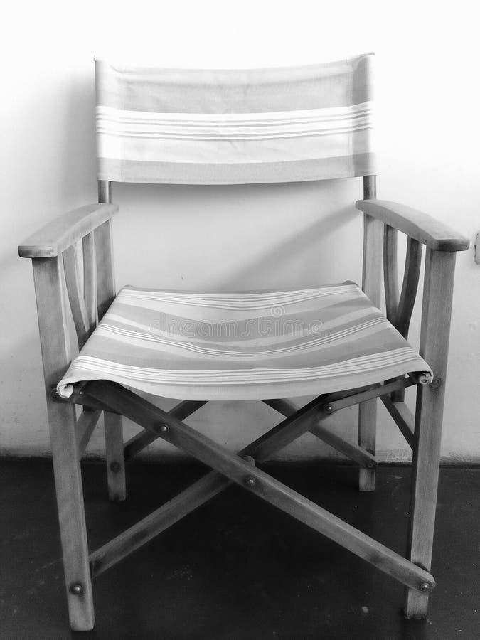 Folding chair royalty free stock photo