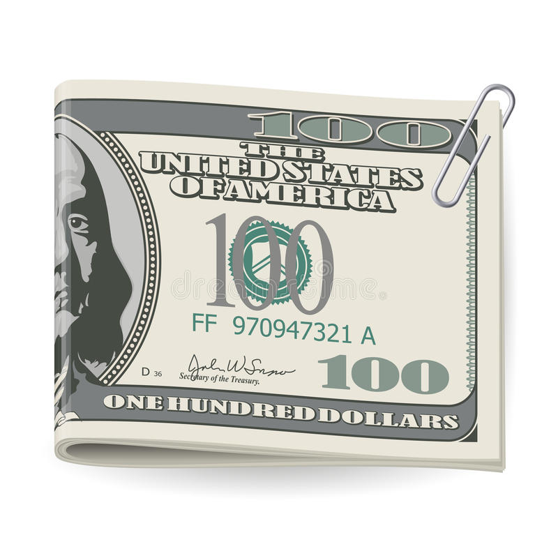 Download Folding dollars stock vector. Illustration of commerce - 26663132