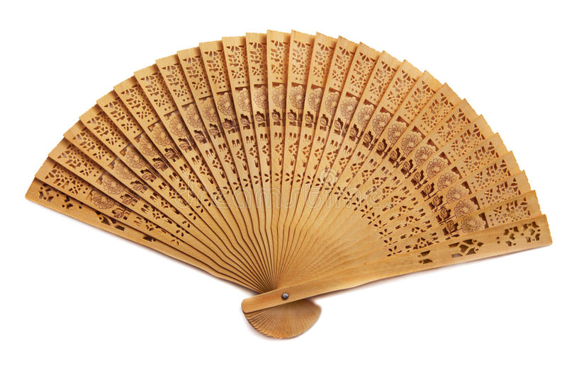 Folding fan stock images