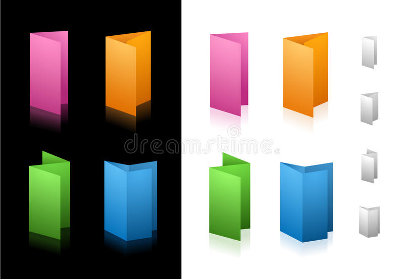 Download Folding Icons stock vector. Image of design, symbol, professional - 10744040