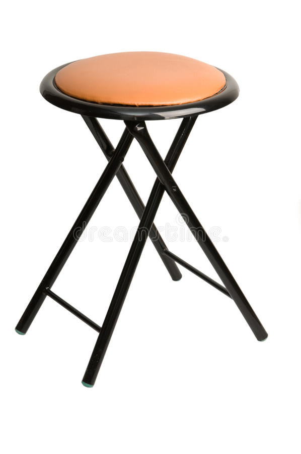 Download Folding metal chair stock photo. Image of stool, seat - 18619972