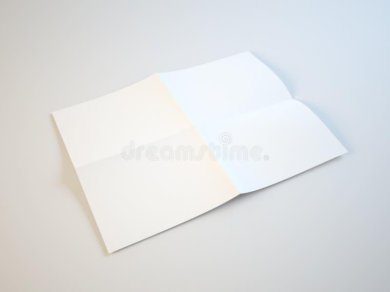 Download Folding paper stock illustration. Image of copy, pamphlet - 24448262