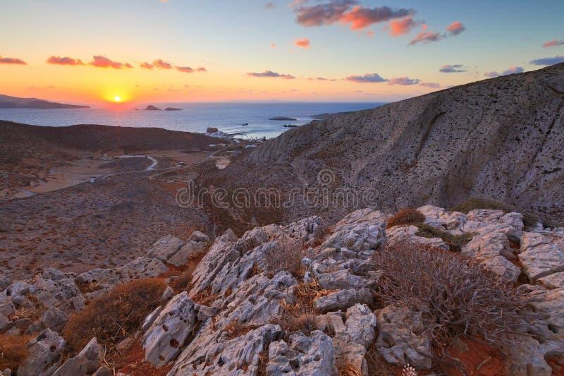Download Folegandros fotografering för bildbyråer. Bild av kust - 78730787