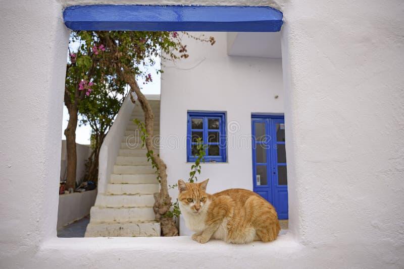 FOLEGANDROS ISLAND, CAT. CYCLADES ISLANDS GREECE stock photo