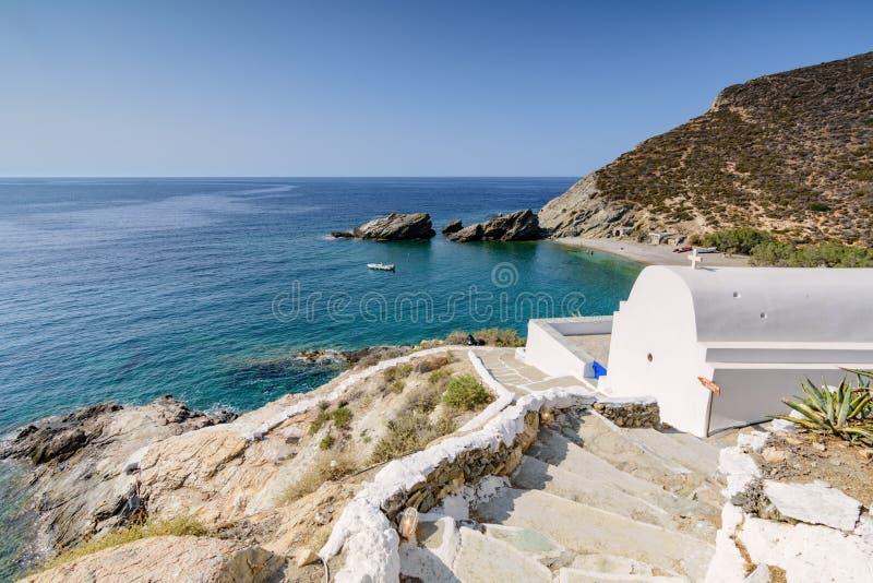 FOLEGANDROS ISLAND, GREECE. FOLEGANDROS ISLAND, CYCLADES ISLANDS - GREECE royalty free stock photo